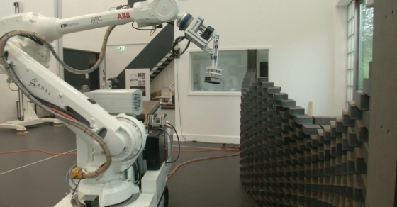 Brick-Laying Robot Coming To A Construction Site Near You