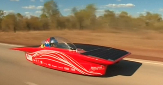 Solar-Powered Cars Are Racing Across Australia
