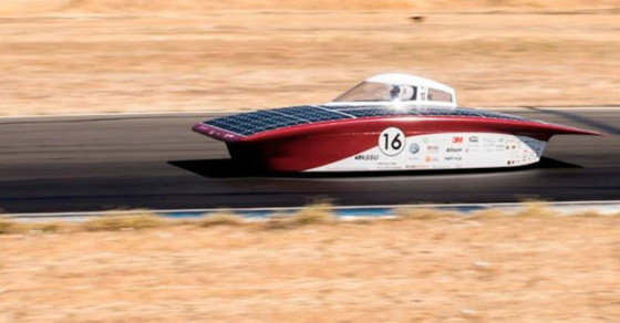 Solar-Powered Race Cars Take The Australian Outback By Storm
