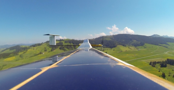 This Record-Breaking Plane Is Powered By The Sun