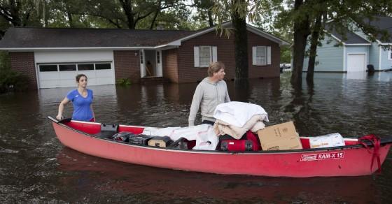 Churches At Heart of Response To South Carolina Flooding