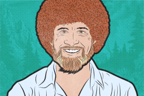 The Happy Gospel Of Bob Ross And His 3,549 Disciples