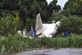 Russians Panic After Cargo Plane Crash In South Sudan