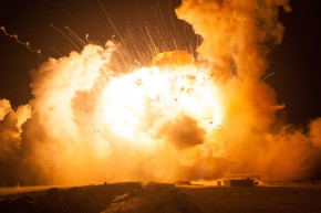 NASA Releases Photos From The Antares Rocket Explosion