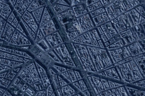 """Map of Paris Terror Attacks, """"Act Of War"""" By ISIS"""