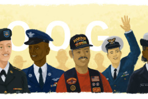 Google Enrages White Supremacists With Its Veterans Day Doodle