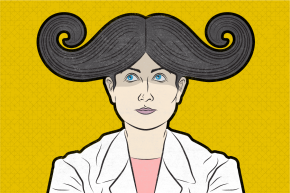 Mustaches Outnumber Women In Med School Leadership