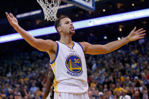 Stephen Curry Shoots All The Shots, And Makes Them, Too