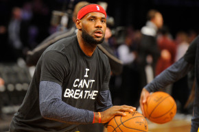 #NoJusticeNoLeBron: Tamir Rice Protesters Call On NBA Star To Sit Out
