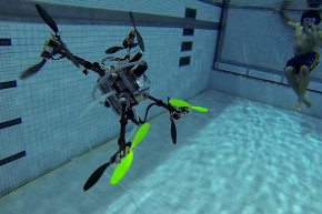 This Drone Can Conquer Sea And Sky
