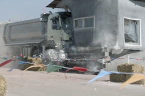Watch This 4-Year-Old Destroy An 18-Ton Truck