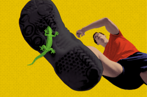 Here's How Big Your Feet Need To Be To Climb Walls Like Spiderman