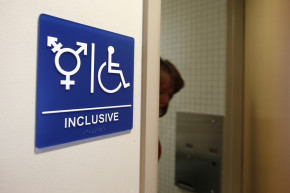 Feds Take On Transgender Bathroom Fight