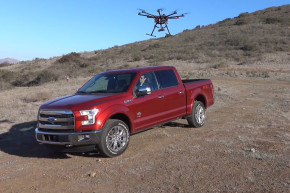 Ford Teams Up With Drones In Disaster Areas