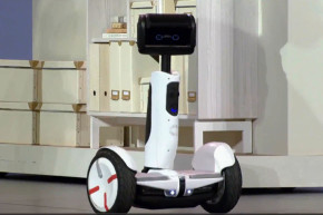 This Segway Turns Into A Robot Butler
