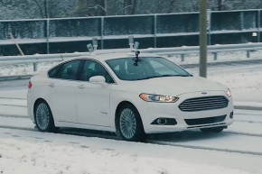 Ford Teaches Self-Driving Cars To Handle Snow