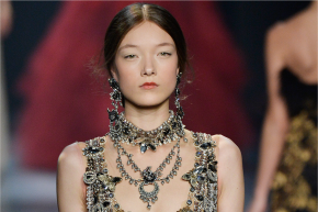 This Silver Dress Captured Hearts At New York Fashion Week