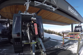 "Hit The Slopes In The French Alps With ""Buggy Skiing"""