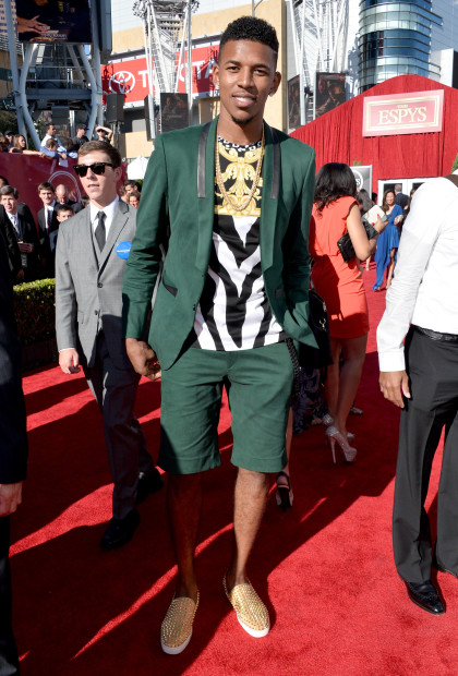 LOS ANGELES, CA - JULY 17:  NBA player Nick Young  attends The 2013 ESPY Awards at Nokia Theatre L.A. Live on July 17, 2013 in Los Angeles, California.  (Photo by Alberto E. Rodriguez/Getty Images for ESPY)