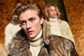 """Meet Lucky Blue Smith, Fashion's """"It Boy"""" And Real-Life Zoolander"""