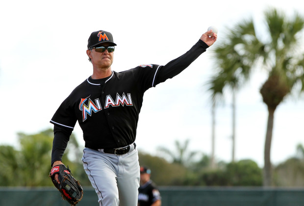 MIAMI, FL - FEBRUARY 22: Manager Don Mattingly during a Miami Marlins workout on February 22, 2016 in Jupiter, Florida. (Photo by Rob Foldy/Getty Images)