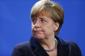 Syrian Asylum Seekers In Germany Stand By Angela Merkel