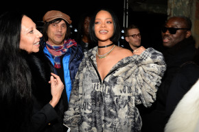 Day 2 Of New York Fashion Week Was All About Rihanna
