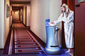 Hotel Robot Will Deliver Your Forgotten Toothpaste