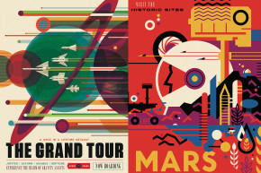 NASA Unveils Beautiful Travel Posters With A Retro Look