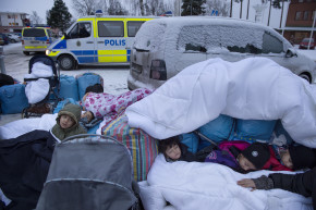 Viral Video Of Racist Rant Highlights Plight Of Migrants In Sweden