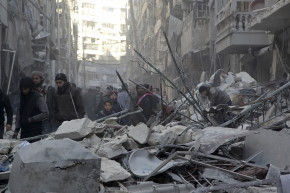Besieged Syrian Rebels Want Weapons, Not Food