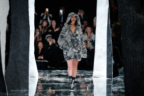 All Hail Rihanna, Queen Of Fashion Week Buzz