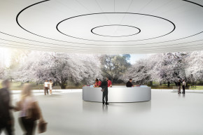 A Peek Inside Apple's New, Tricked-Out Headquarters