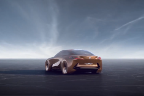 BMW's Incredible Concept Car Offers VR And Autonomy