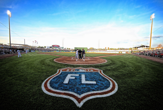 FORT MYERS, FL - MARCH 16: Paul Molitor #4 of the Minnesota Twins and John Farrell #53 of the Boston Red Sox meet at home plate prior to the start of the Spring Training Game on March 16, 2016 at CenturyLink Sports Complex and Hammond Stadium, Fort Myers, Florida. (Photo by Leon Halip/Getty Images)