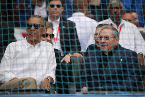 A Millitant Group Was At The Same Game In Cuba As President Obama