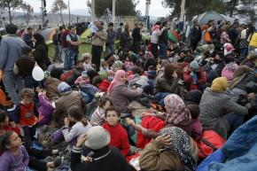 Panicked Migrants Express Confusion Over New EU Policy