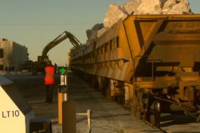 Snow Shipped To Alaska For Dog Sled Race