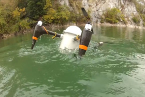 This Drone Can Launch From Under Water