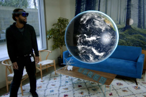HoloLens App Brings The Galaxy Into Your Living Room