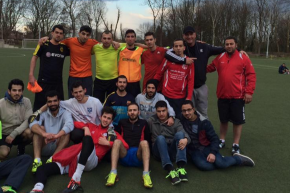 A Syrian Refugee Soccer Team Helps Players Find New Lives In Germany