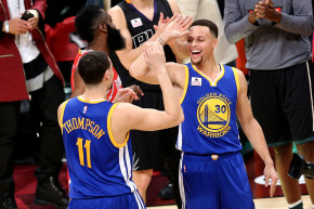 Warriors' Backcourt Has More 3s Than Most Teams In NBA History
