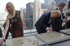 Mysterious Disappearance Of Donald Trump's Cement Handprints