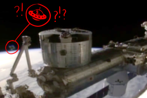Did The Space Station Video Feed Go Dark After A UFO Appeared?