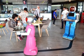 Chinese Restaurant Fires Its Robot Waiters For Being Idiots