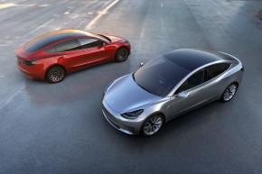 Elon Musk Finally Unveiled Tesla's Model 3