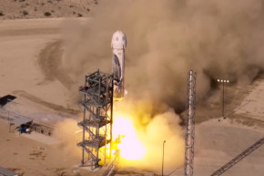 The Blue Origin Nails Another Landing With The Same Rocket