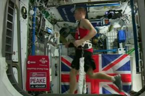 Astronaut Runs Record-Breaking Marathon In Space