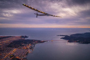 Solar-Powered Plane Lands In California After Epic Flight