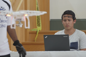 University Of Florida Holds First Mind-Controlled Drone Race